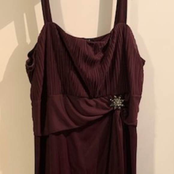 Beautiful Plum Plus size dress